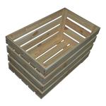 Holzkiste Stiege Kiste Obststiege Obstkiste für Lebensmittel aus Holz