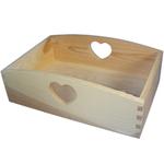 Allzweckkiste Holzkiste Kiste Aufbewahrungsbox Box Landhausstil