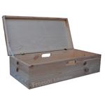 Holzkiste Kiste Spielkiste SpielzeugHolztruhe mit Deckel aus Holz