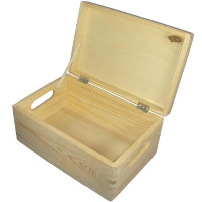 allzweckkiste holzkiste kiste aufbewahrungsbox mit deckel aus holz. Black Bedroom Furniture Sets. Home Design Ideas