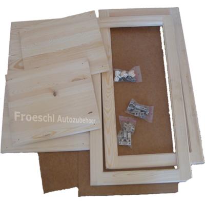 Schrankbausatz Wandschrank Lagerschrank Bürorschrank Bausatz Holz