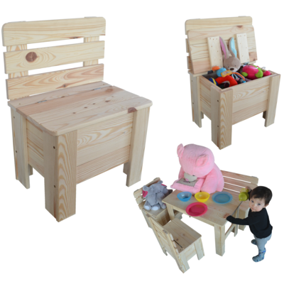 kinderstuhl holzstuhl gartenstuhl truhe kiefer massiv stuhl aus holz. Black Bedroom Furniture Sets. Home Design Ideas