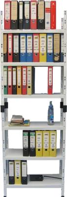 Büro-Regal - 75 cm - 6 Fächer - Fachbelastung 70 kg