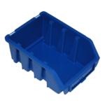 116 x 75 x 161 mm blaue Sichtlagerbox Stapelbox Sichtlagerkasten Gr.2