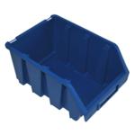 170 x 126 x 240 mm blaue Schütte Box Lagerbox Sichtlagerkasten Gr.3