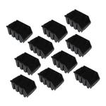 10 große Sichtlagerkästen Sichtlagerbox Lagerbox Lagersichtboxen Gr.3