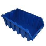 333 x 187 x 500 mm blaue Schütte Lagersichtkasten Kleinteilebox Gr.5