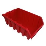 333 x 187 x 500 mm rote Schütte Lagersichtkasten Kleinteilekasten Gr.5